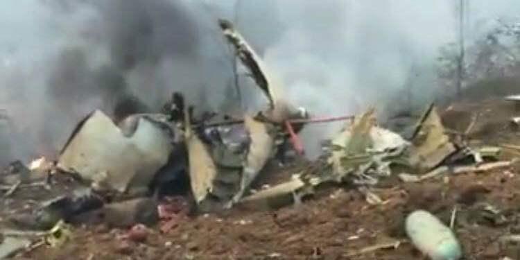 一架飞机在遵义坠落 官方:暂不清楚具体伤亡