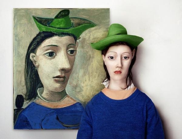 如果抽象画的人物出现在现实