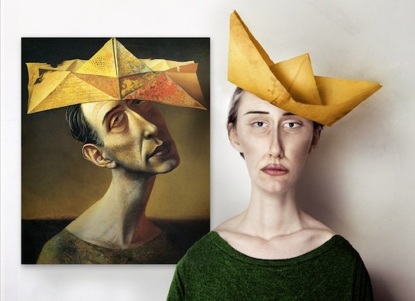 抽象画人物