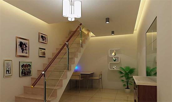 复式楼装修上最为重要的就是楼梯,因为在复式楼上,使用楼梯上下两层的居多,在我们的复式楼装修上,楼梯尽量要小一些。要是房子空间大的话,可以使用一些休息平台之中的折线形娄底,要是空间小的话,建议我们使用螺旋形楼梯,因为使用这样的楼梯设计不仅看起来比较美观,而且也是符合中式装修风水学上喜回旋,忌直冲的原则。