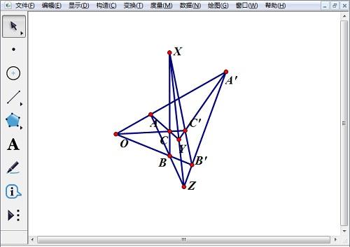 几何画板画德萨格构图方法