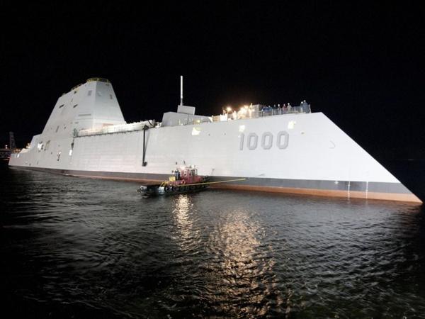 超越宙斯盾:美军史上最强战舰海试