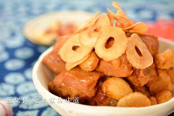 年夜饭系列之肉食——蒜子小排 - 蓝冰滢 - 蓝猪坊 创意美食工作室