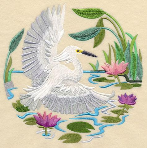 湖南株洲银果绣品讲解电脑绣花刺绣图案的针法